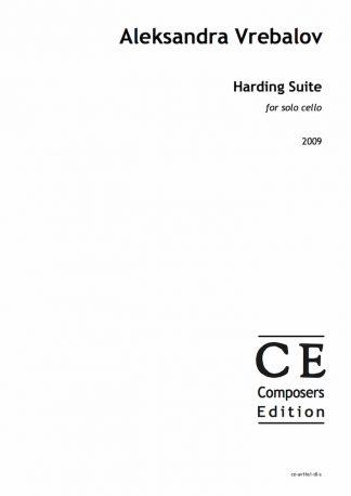 Aleksandra Vrebalov: Harding Suite for solo cello