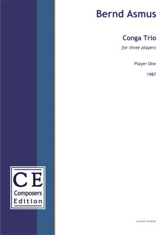 Bernd Asmus: Conga Trio for three players