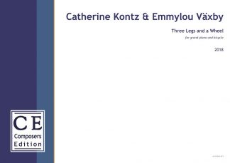 Catherine Kontz & Emmylou Växby: Three Legs and a Wheel for grand piano and bicycle