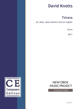 David Knotts: Tsirana for oboe, oboe d'amore and cor anglais