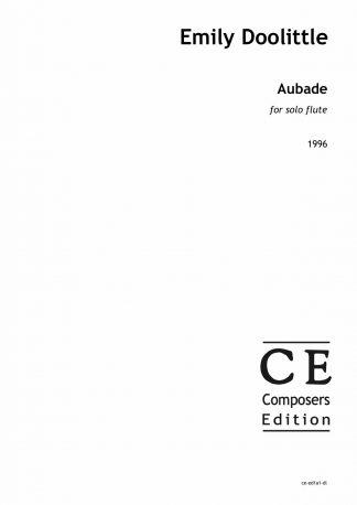 Emily Doolittle: Aubade for solo flute