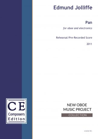 Edmund Jolliffe: Pan for oboe and electronics