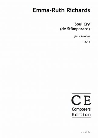 Emma-Ruth Richards: Soul Cry (de Stamparare) for solo oboe