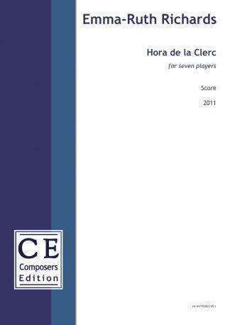 Emma-Ruth Richards: Hora de la Clerc for seven players