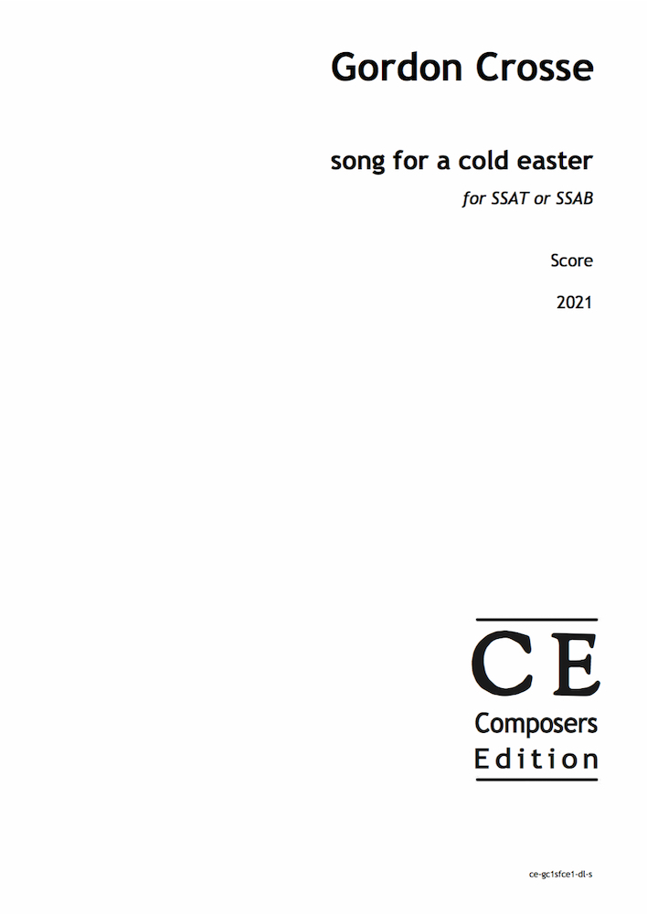 song for a cold easter