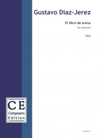 Gustavo Diaz-Jerez: El libro de arena for viola solo
