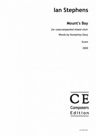 Ian Stephens: Mount's Bay for unaccompanied mixed choir