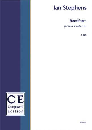 Ian Stephens: Ramiform for solo double bass