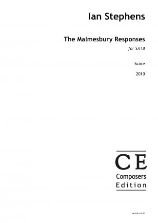 Ian Stephens: The Malmesbury Responses for SATB choir