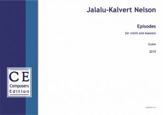 Jalalu-Kalvert Nelson: Episodes for violin and bassoon