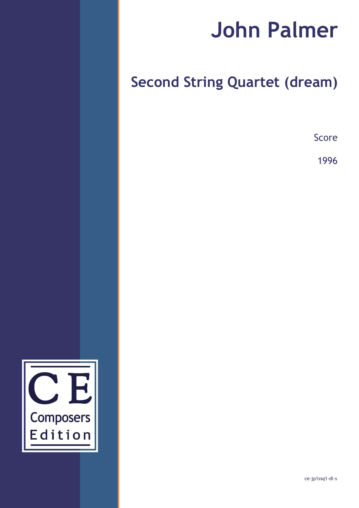 John Palmer: Second String Quartet for string quartet