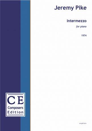 Jeremy Pike: Intermezzo for piano