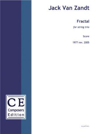 Jack Van Zandt: Fractal for string trio