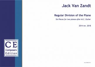 Jack Van Zandt: Regular Division of the Plane six pieces for two pianos after M.C. Escher