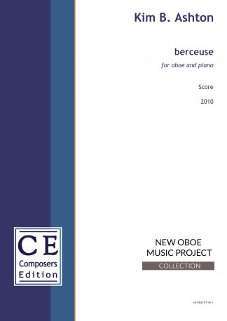 Kim B. Ashton: berceuse for oboe and piano