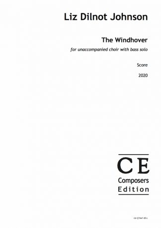 Liz Dilnot Johnson: The Windhover for unaccompanied choir with bass solo