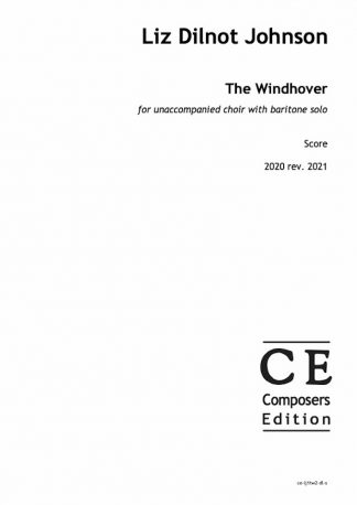 Liz Dilnot Johnson: The Windhover for unaccompanied choir with baritone solo