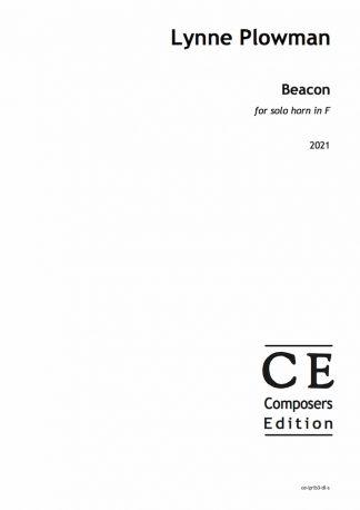 Lynne Plowman: Beacon for solo horn in F