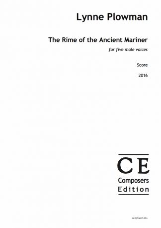 Lynne Plowman: The Rime of the Ancient Mariner for five male voices