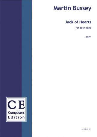 Martin Bussey: Jack of Hearts for solo oboe