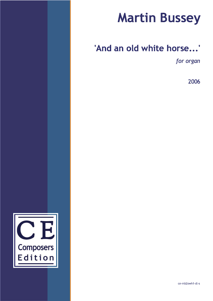 'And an old white horse…'