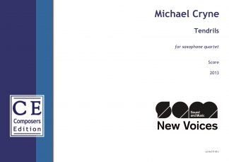 Michael Cryne: Tendrils for saxophone quartet