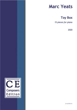 Marc Yeats: Toy Box 15 pieces for piano