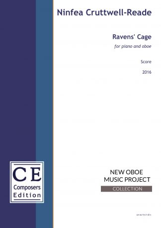 Ninfea Cruttwell-Reade: Ravens' Cage for piano and oboe