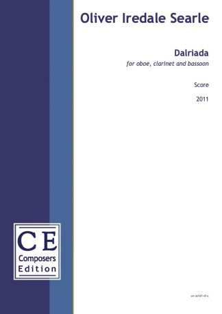 Oliver Iredale Searle: Dalriada for oboe, clarinet and bassoon