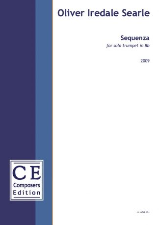 Oliver Iredale Searle: Sequenza for solo trumpet in Bb