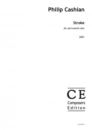 Philip Cashian: Stroke for percussion duo