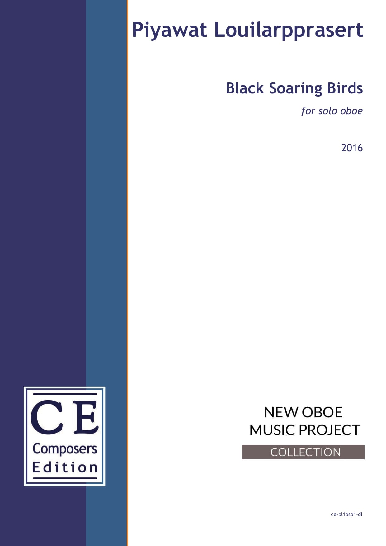 Piyawat Louilarpprasert: Black Soaring Birds for solo oboe