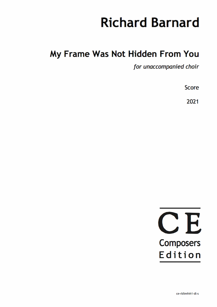 My Frame Was Not Hidden From You