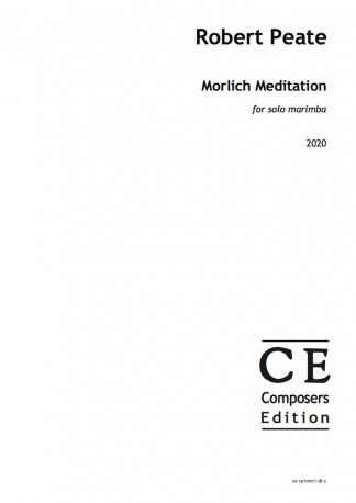 Robert Peate: Morlich Meditation for solo marimba