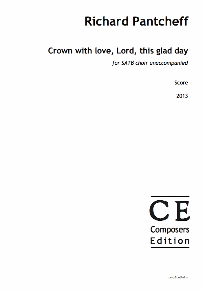 Crown with love, Lord, this glad day