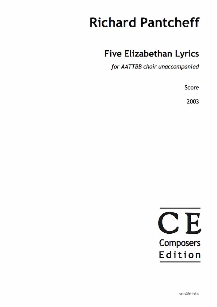 Five Elizabethan Lyrics