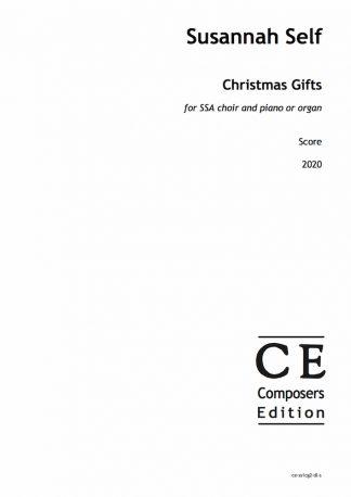 Susannah Self: Christmas Gifts for SSA choir and piano or organ