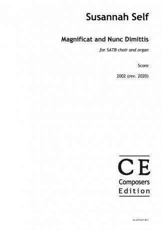 Susannah Self: Magnificat and Nunc Dimittis for SATB choir and organ