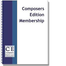 Composers Edition Membership - Initial Subscription (Ensemble)-0